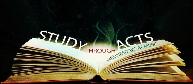 Study through Acts